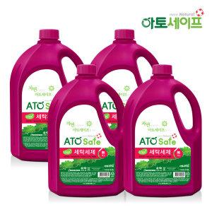 로하스인증 액체세제 2.5L 4개