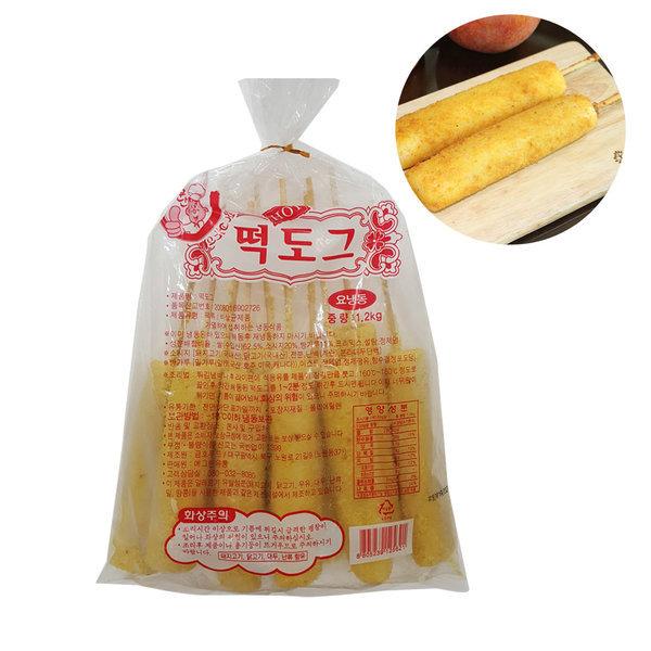 푸드드림 떡도그 (120gx10개입)1.2kg 금호푸드