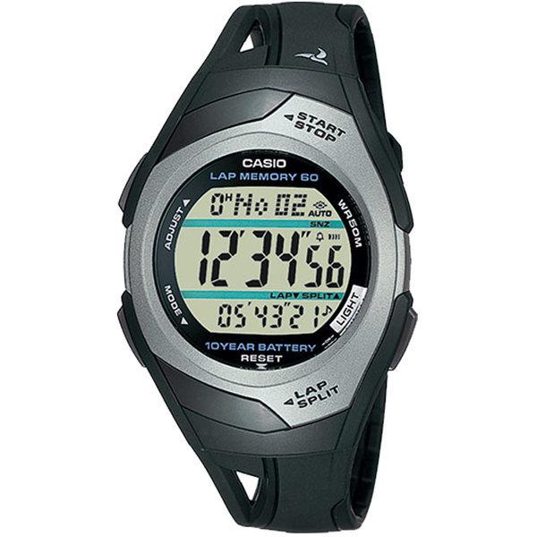 카시오정품 STR-300C-1V 마라톤 손목시계 남자여자