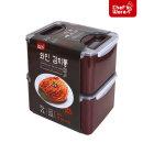 셰프웨어 김치통 7L 1+1 BPA Free 밀폐용기 반찬통