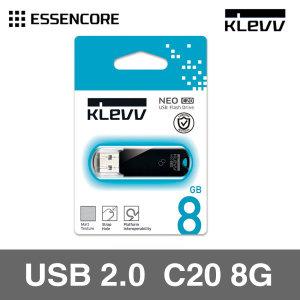 에센코어 클레브 NEO C20 8GB 메모리 평생AS 가능