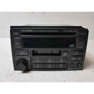 에쿠스 1세대 구형 AV 차량용 CD 테입 오디오 HAV-950