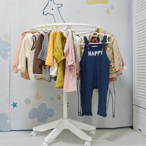 원형 스탠드옷걸이 아동행거 아기옷장 아기옷걸이