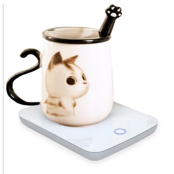 미니온열판 컵가열기 미니인덕션 테이블온열판-8182