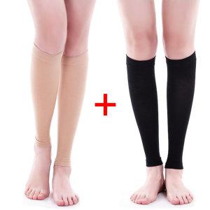 압박스타킹 베이지/블랙 1+1 다리붓기제거 보정속옷