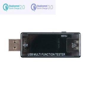 USB테스터기 퀵차지3.0 전류 DC전압 충전용량 측정