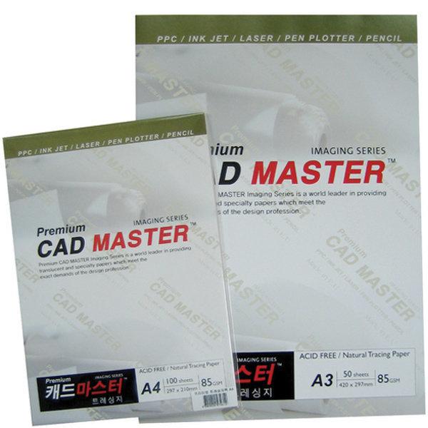트레싱페이퍼(캐드마스터/85g/A4/100매)