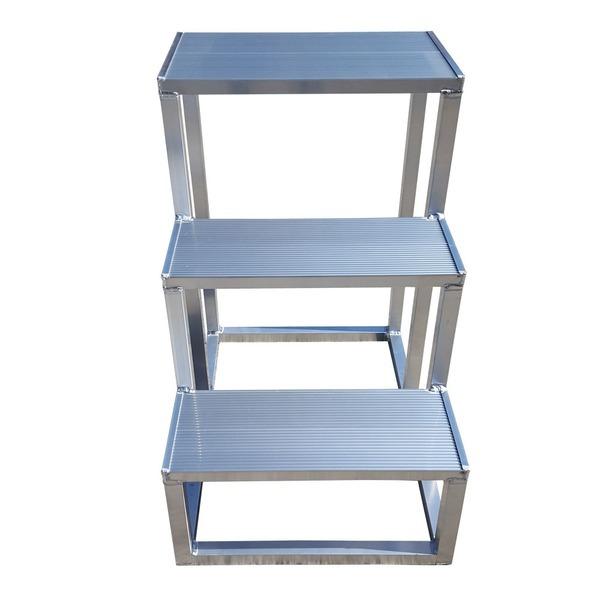 3단 계단발판 용접형계단 안전발판 알루미늄계단