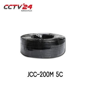 HDCCTV케이블 JCC-200M 동축(5C)+전원일체형200M