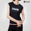 허그 여성 민소매 나시 티셔츠 플로라 슬리브리스