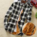 셔츠 여성 보온 기모 융털 겨울 여자 체크 남방