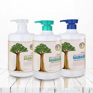 모하니 바오밥 단백질 퍼퓸샴푸/손상모/대용량 1000ml