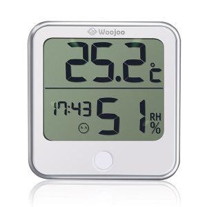 우주헬스케어 디지털 시계 온습도계 HD-1809