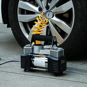 시거잭 에어 콤프레샤 차량 컴프레샤 타이어펌프 12V