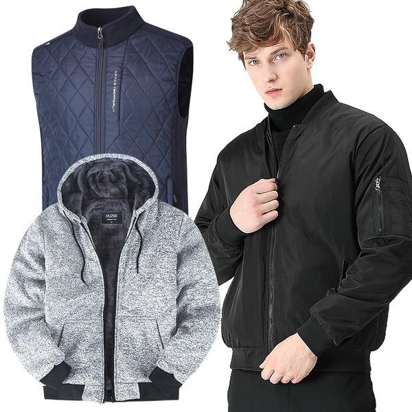 겨울 기모 티셔츠/패딩조끼/후드집업/밴딩바지/등산복