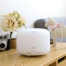 아로마 초음파 가습기 휴대용 사무실 가정용 -원형