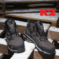 K2 케이투 방한화 방한 겨울 안전화  K2-86 k2 정품