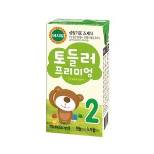 정식품/프리미엄토들러2단계(16팩)X6박스/아기두유