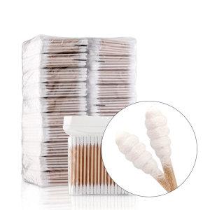 착한 회오리 나무면봉 20봉 병원면봉 위생용품 네일
