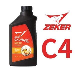 제커엔진오일 5W30 C4 매직플러스 사은품 연료첨가제