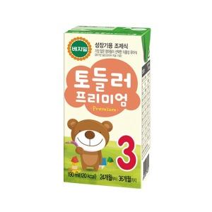 정식품/프리미엄토들러3단계(16팩)X4박스/아기두유