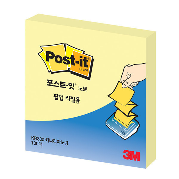 포스트-잇(팝업팩/C-4214/3M)