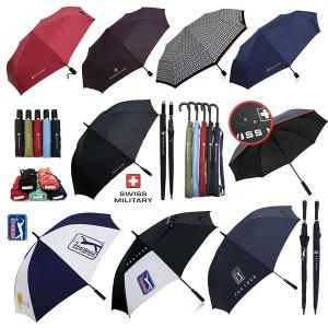 PGA 우산 특가 골프 장우산 3단 2단