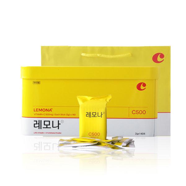 약국용 레모나 산 비타민C 2g 140포