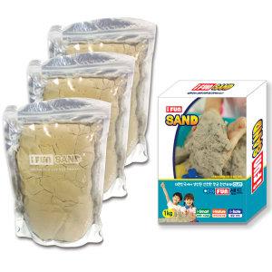 아이펀샌드 옥토넛 모래놀이 모래 3kg