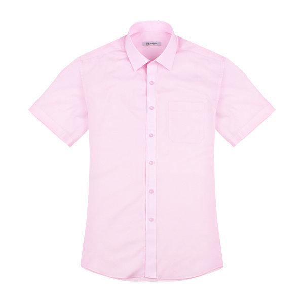 (레디핏)  레디핏  데일리 레귤러 핑크 반팔셔츠_RF2107
