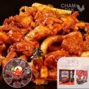 참닭 닭갈비 700g X 2팩 + 매콤한찰순대 500g
