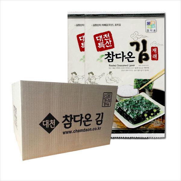 대천참다온김/10봉+10봉/가정용/박스배송 (11+1)