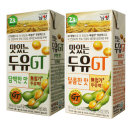 GT두유 190ml (담백x16팩 + 달콤x16팩) / 남양두유