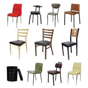 인테리어/식당/두각/업소용/식탁의자/카페/철제의자