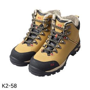 발편한 방한안전화 K2-58 6인치 방한화 작업화 현장화