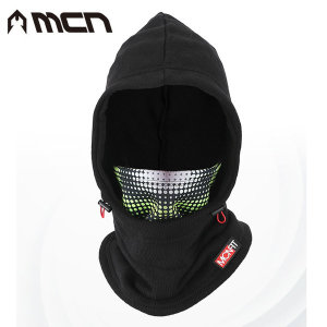 MCN 후드마스크 방한 기모니트 넥워머 방한용품 스키