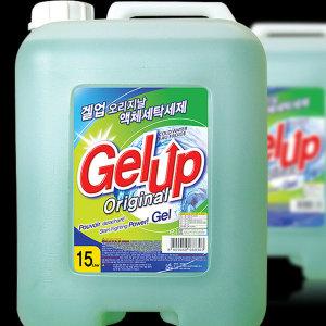 겔업 고농축 액체세제15kg 총15000젤타입 액체판매1등