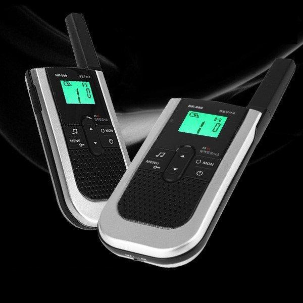 HK880 초슬림 생활용 무전기 풀세트(낚시/등산/골프)