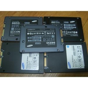 삼성전자/외산 SSD 120G/128G 중고 하드디스크