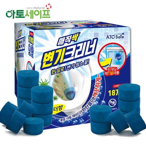 매직싹 변기크리너 45g 18개입 변기세정제 / 청크린