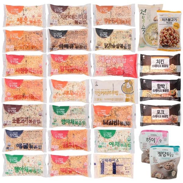국산쌀) 천일 볶음밥 5팩/24종 선택/드라이아이스
