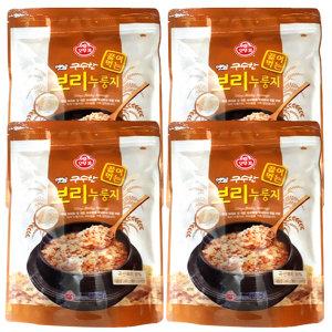 옛날 오뚜기 보리누룽지(240gx4봉)/ 지퍼백 누룽지