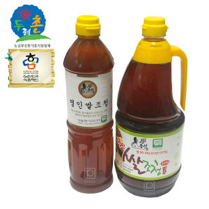두레촌/명인쌀조청/조청/우리네식품/현미조청/국산쌀