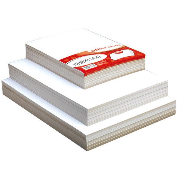 마분지A3(20매/350g/OfficeDEPOT)
