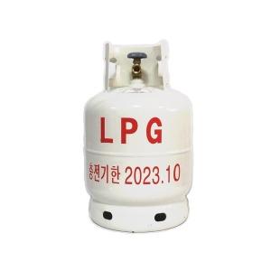 LPG가스통(10KG) 화이트/신제품