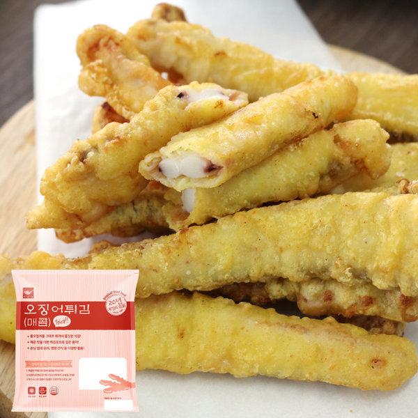 사옹원 매콤 오징어 튀김 1kg (35g 약30입)