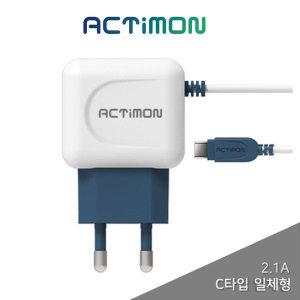 비바워크 액티몬 휴대폰충전기 C타입 2.1A C핀 TC