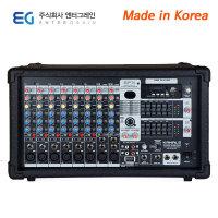 국산1300W 파워드믹서앰프 이펙터 영상출력 EMP-1300