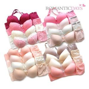 로맨틱데이즈 8종속옷 브라팬티세트 순면누디노와이어