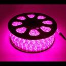 줄네온/크리스마스조명/LED원형논네온 50M/핑크